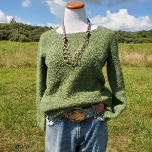 Womans wool blend sweater